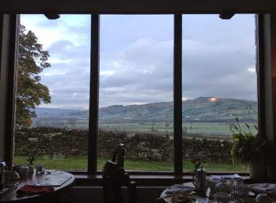 view from Throstle Nest farm house