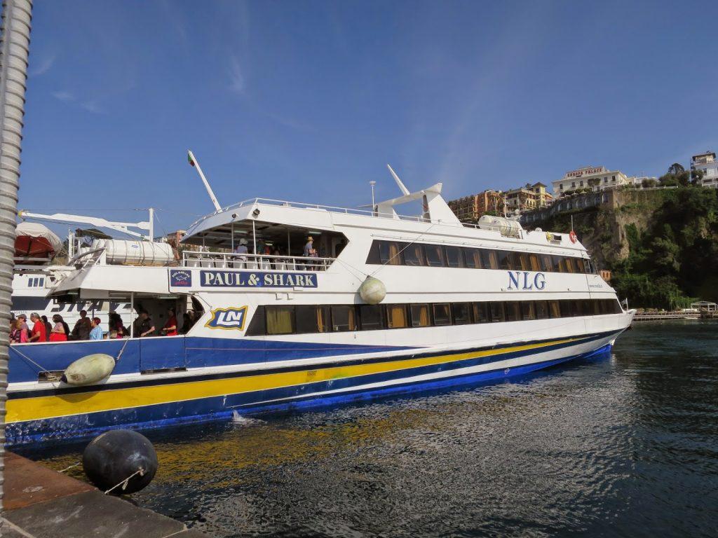 ferry sorrento and capri italy