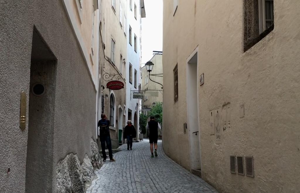 Stone Alley, salzburg, austria