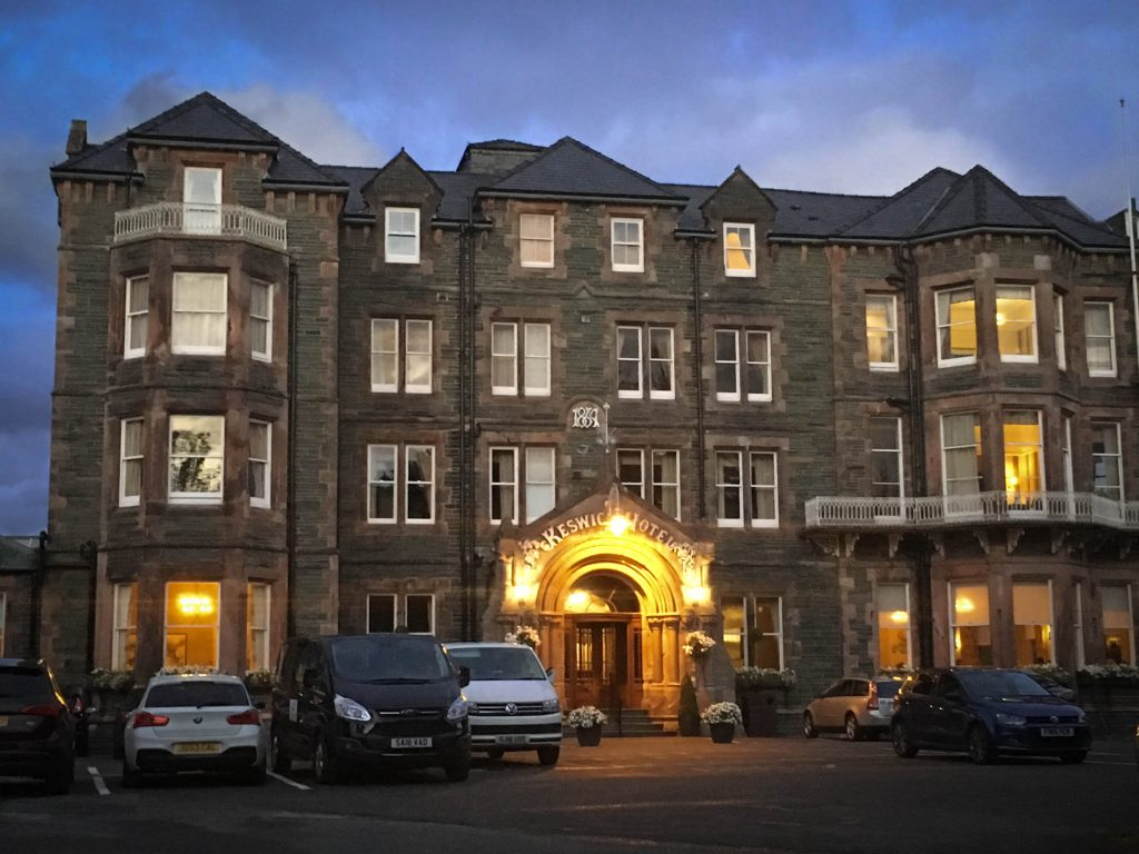 Front view of Keswick Country House Hotel