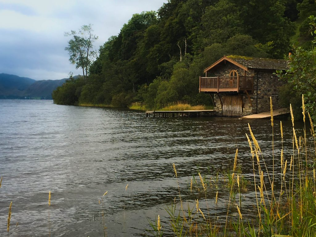 Pooley Bridge Boat House, Ullswater, lake district